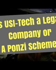 Is USI-Tech a Ponzi Scheme?