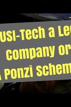 Is USI-Tech a Ponzi Scheme?